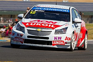 WTCC Testing report Muller leads a close test session at Suzuka