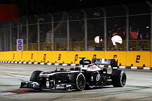 Formula 1 Practice report Williams: Work to do after Friday practice in Singapore
