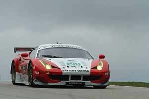 ALMS Qualifying report Sweedler and Bell to start West/AJR Ferrari from sixth row in GT