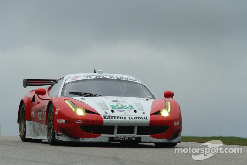 Sweedler and Bell to start West/AJR Ferrari from sixth row in GT