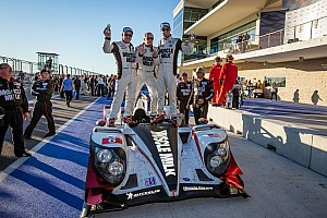 ALMS Race report Texas-sized 7th straight victory for Luhr, Graf in Austin
