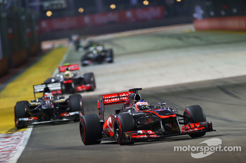 McLaren had chances of podium in Singapore
