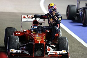Formula 1 Breaking news Webber's lift from Alonso hitches him penalty for Korea