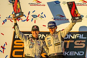 ALMS Race report Tucker and Briscoe take Level 5 to victory in Texas - video
