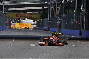 GP2 Race report Points finishes in Singapore for De Jong and Clos