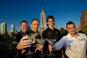 Grand-Am Commentary Champions celebrate in NYC after a drama-filled finale at Lime Rock Park
