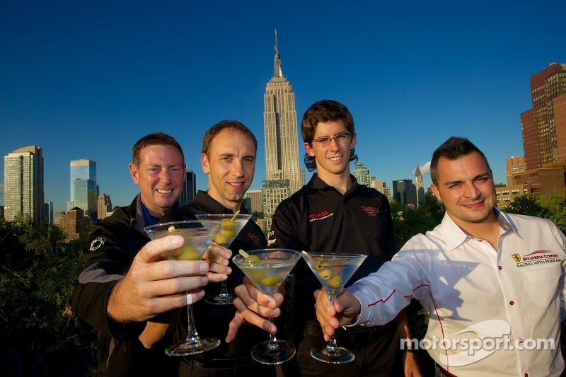 Champions celebrate in NYC after a drama-filled finale at Lime Rock Park