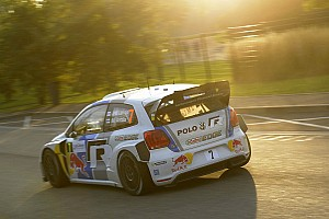 WRC Leg report Volkswagen third, fifth and seventh on Friday in France