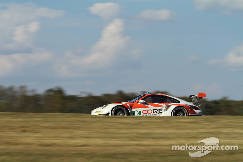 CORE autosport Porsche 911 GT3 RSR earns best season finish in Virginia