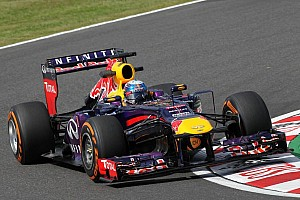 Formula 1 Practice report Red Bull rising in Japan on Friday