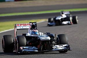 Formula 1 Qualifying report Both Williams drivers miss the Q3 at Suzuka