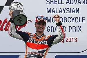 MotoGP Race report Pedrosa rides perfect race in Sepang for third win of the season