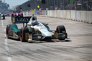 IndyCar Qualifying report Defending champ Ed Carpenter qualifies 9th Friday