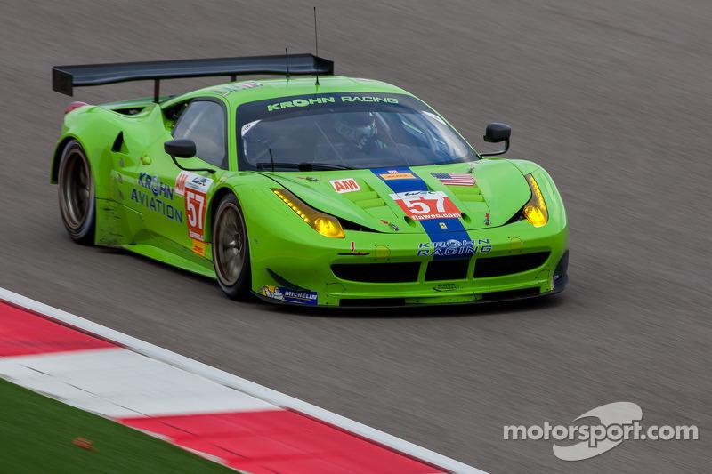 Krohn Racing Ferrari will start in 7th place in 6 Hours of Fuji