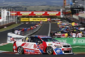 Supercars Practice report Team BOC badly damaged
