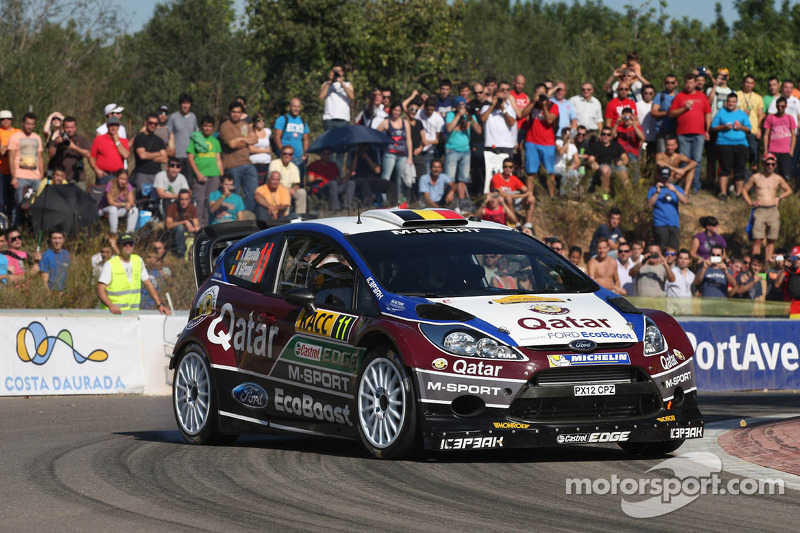 Solid start for Qatar M-Sport in Spain