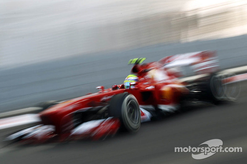 Abu Dhabi GP - Fourth row for Massa, sixth for Alonso