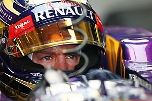 Formula 1 Analysis Ricciardo happy 2014 teammate Vettel only 'human'