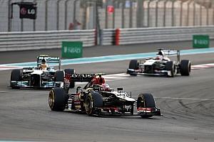 Formula 1 Race report Lotus' Grosjean satisfied with Abu Dhabi performance