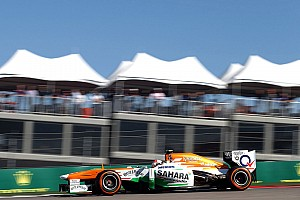 Formula 1 Practice report Sahara Force India completed a busy free practice at COTA