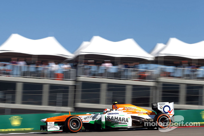 Sahara Force India completed a busy free practice at COTA