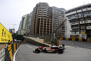 F3 Race report Lynn wins Saturday race at Macau to claim GP pole