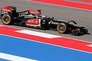 Formula 1 Qualifying report Lotus is top-ten on qualifying for the US GP
