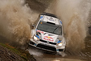 WRC Leg report Volkswagen continues to lead the way in Wales