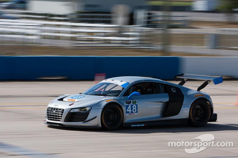 Paul Miller Racing puts new Audi R8 LMS through its initial paces in Sebring testing