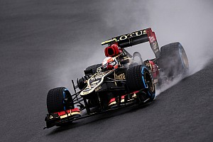 Formula 1 Qualifying report Lotus did not have a great qualifying performance at Interlagos