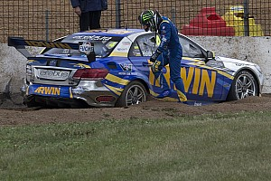 Supercars Race report Scary moment for IRWIN Racing at Phillip Island