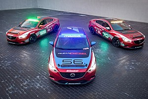 Endurance Preview Mazda6 SKYACTIV-D Clean Diesel cars to tackle Thunderhill 25-hour