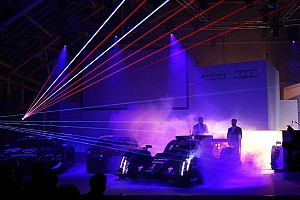 WEC Breaking news Audi R18 e-tron quattro with laser light