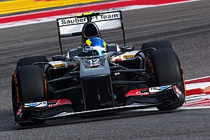Formula 1 Breaking news Esteban Gutiérrez completes the Sauber F1 Team driver line-up for 2014