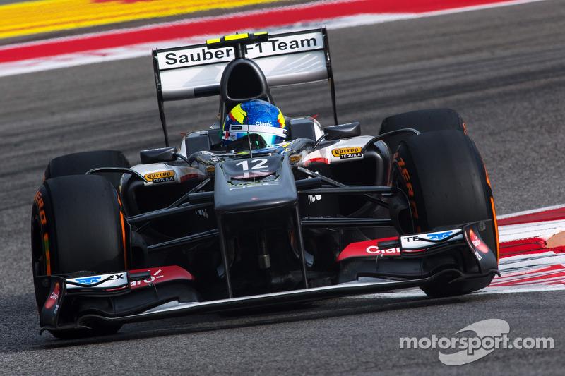 Esteban Gutiérrez completes the Sauber F1 Team driver line-up for 2014