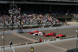 Indy Lights Special feature Top 20 moments of 2013, #8: Four wide finish at Indianapolis