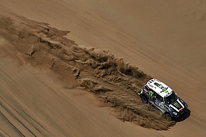 Dakar Stage report Peterhansel gives the Monster Energy X-raid Team its seventh stage win