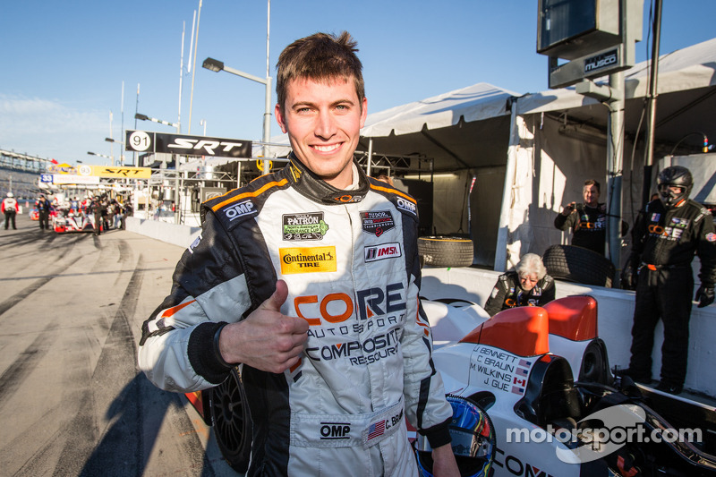 CORE autosport wins Rolex 24 pole