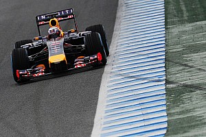 Formula 1 Breaking news Grey clouds at Jerez as Red Bull ends first test