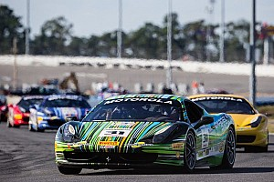 Ferrari Race report Ockey and Ruud triumph at Daytona