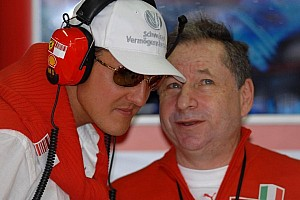 Formula 1 Breaking news Todt vows to 'be there' for friend Schumacher
