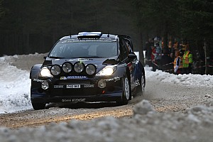 WRC Stage report M-Sport fight on day 2 in Sweden
