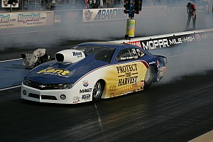 NHRA Qualifying report Brogdon wants more out of his Camaro at Pomona