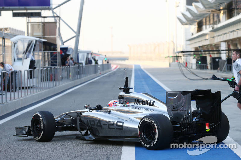 McLaren MP4-29 completes at Bahrain more than 1600km of largely trouble-free running