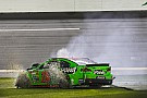 Crash brings early end to Patrick's Daytona 500