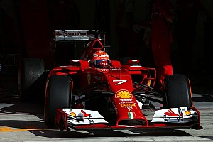 Formula 1 Breaking news Back 'ok' after Bahrain crash - Raikkonen