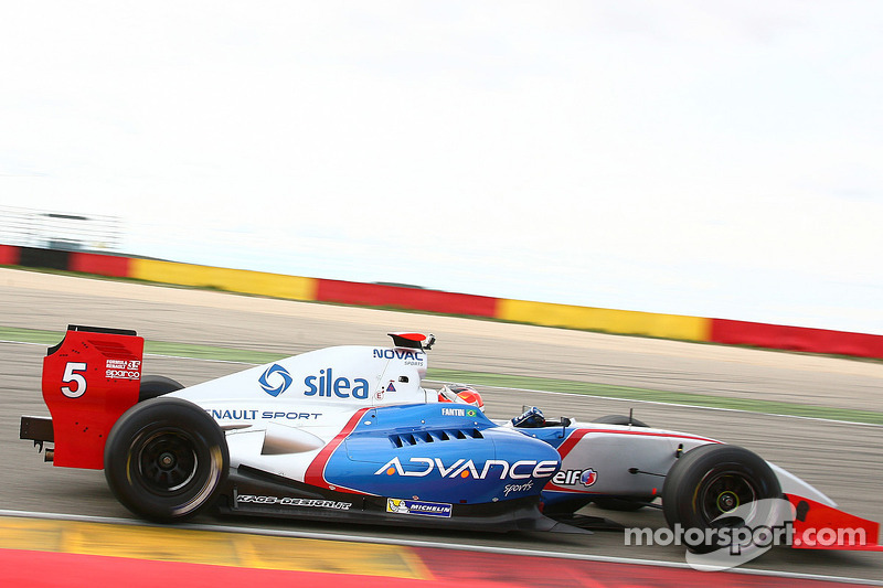 Draco shines in Alcaniz with Fantin and Ghiotto