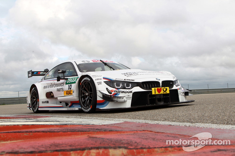 BMW's new challenger unveiled: the M4 DTM