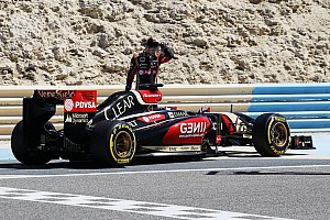 Formula 1 Breaking news Grosjean lost cool in Lotus garage