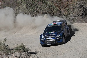 WRC Stage report Evans powers to 4th on Mexican debut